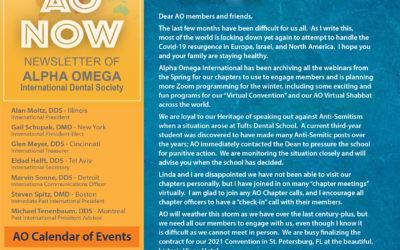 AO Now November 2020 Member Newsletter